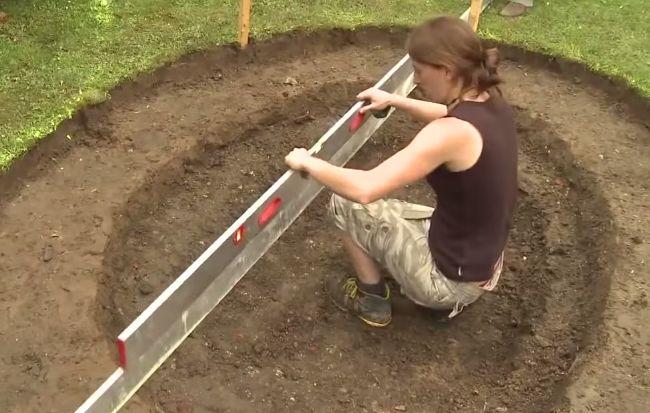 ideias para montar um jardim no quintal : ideias para montar um jardim no quintal:Como Fazer Um Lago No Jardim Pictures to pin on Pinterest