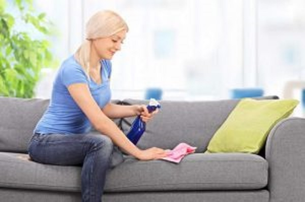 limpar sofá