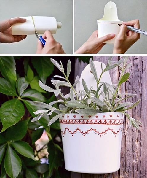 vasos feitos a partir de embalagem plástica2